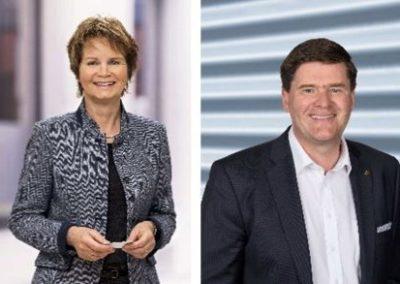 20.09.2019, Gespräch mit Ständerätin Brigitte Häberli und Nationalrat Hansjörg Brunner